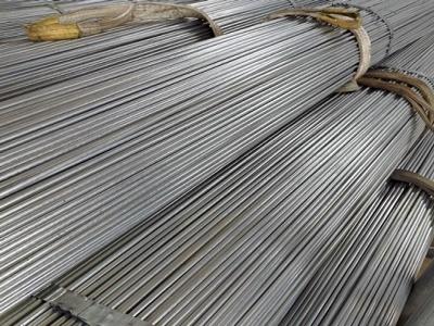 Hot dip galvanized round steel